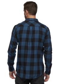 Black Diamond Zodiac Flannel Shirt Men, azurite/carbon plaid